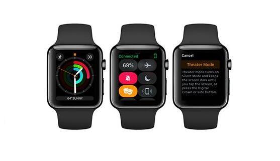 苹果watchOS 3.2开发者预览版Beta3发布 新增影院模式